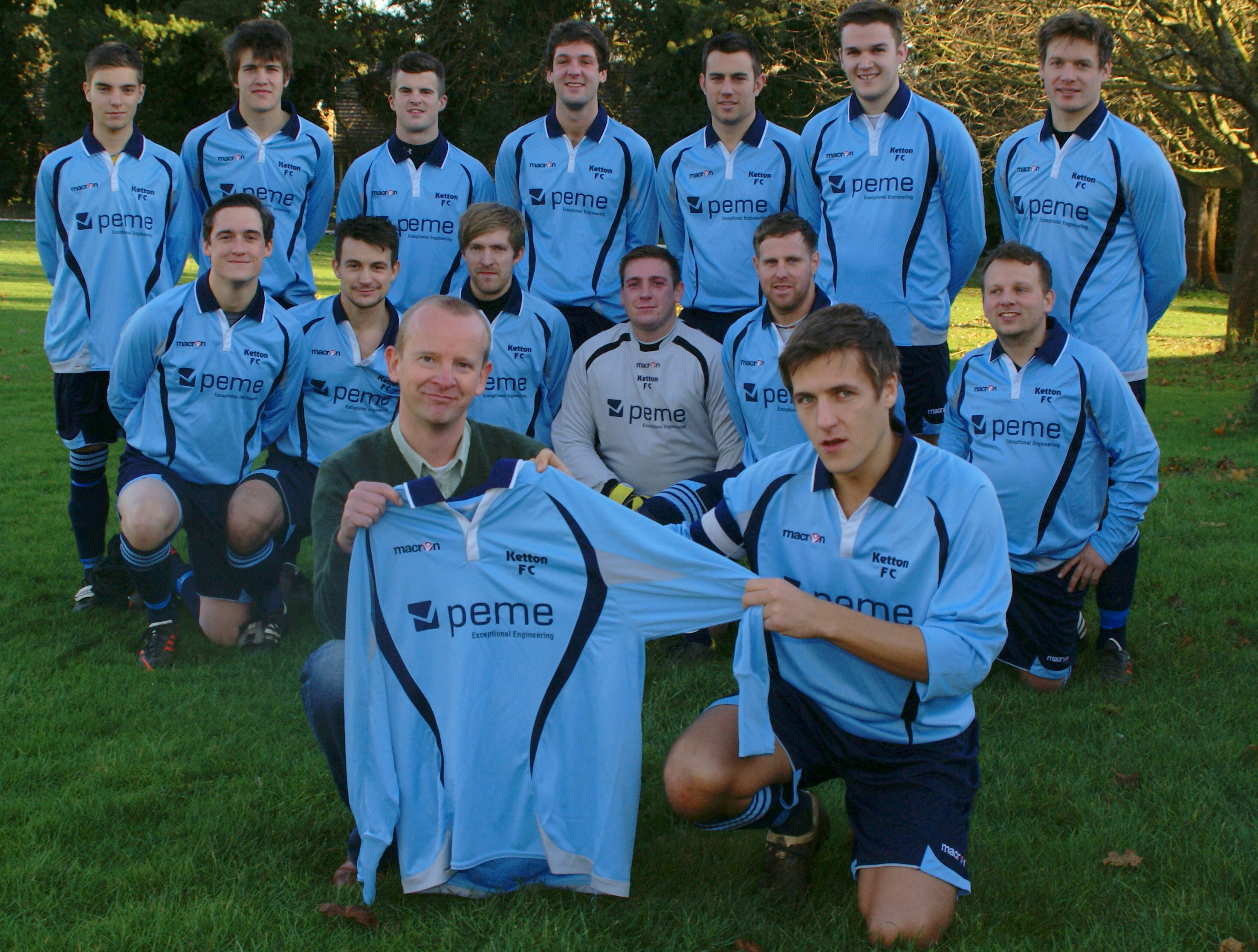 PEME sponsored Ketton F.C