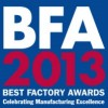 Best Factory Awards 2013