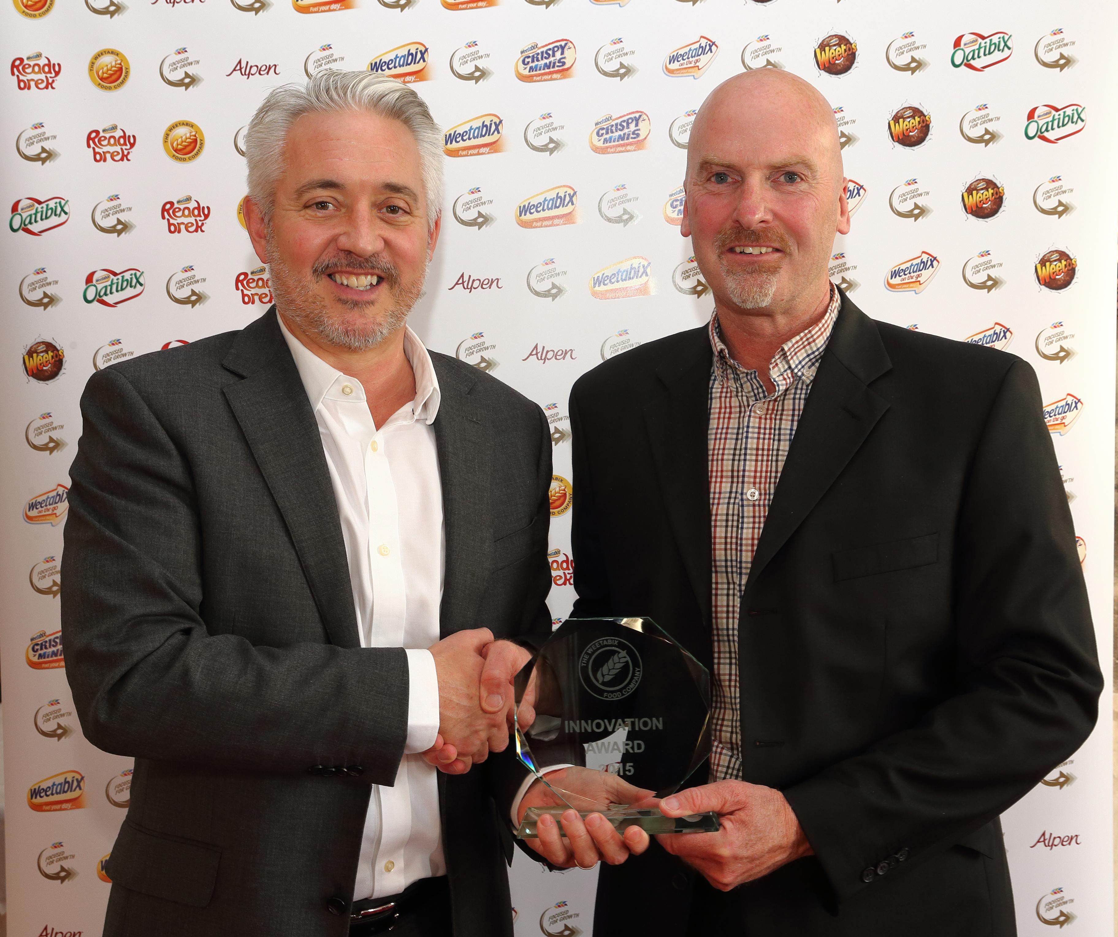 PEME wins 2015 Weetabix Innovation Award for Asset Care