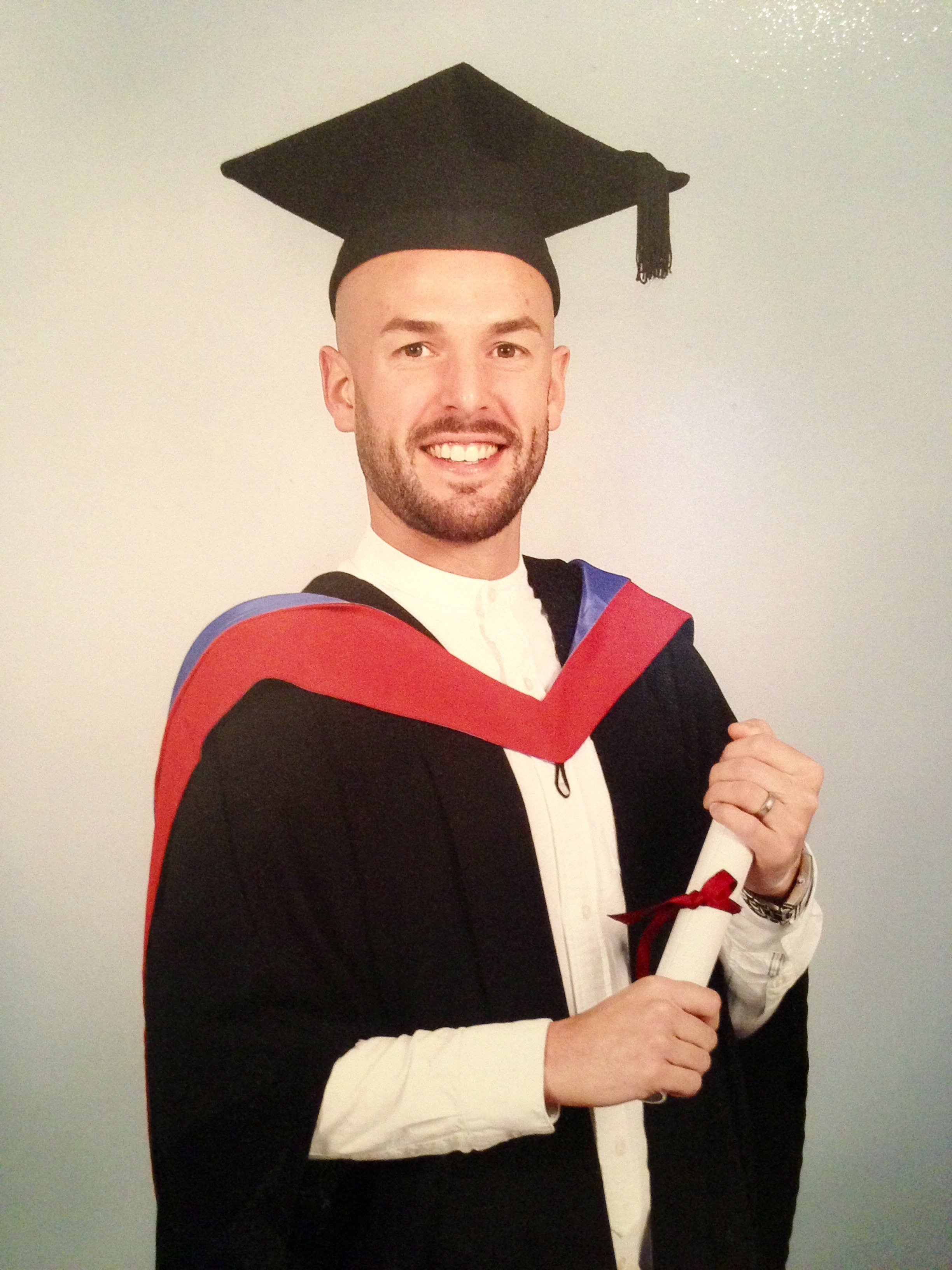 James Henson Graduates
